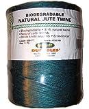 Librett Biodegradable Green Natural Jute Twine, 890 FT - 65oz - 3 Ply
