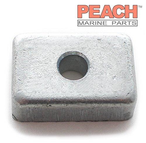 Peach Marine Parts PM-3H6602180M Anode, Transom Bracket & Lower Unit Gearcase Zinc; Replaces Nissan Tohatsu: 3H6602180M, 3H6-60218-0, 3H6602180 Made by Peach Marine Parts