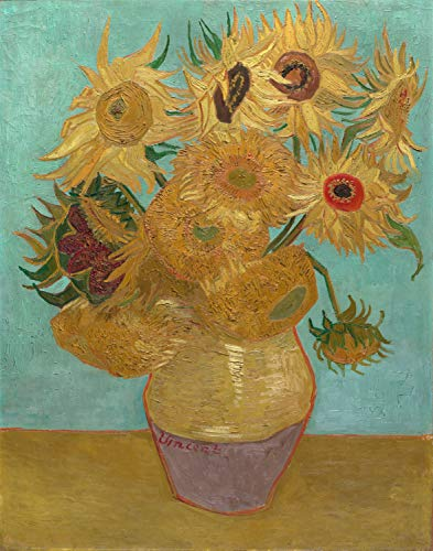 Printed Wall Art Poster Vincent Van Gogh Art Prints (Sunflowers, 1888) for Living Room Home Decoration - 23