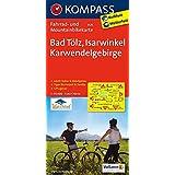 Bad Tölz - Isarwinkel - Karwendelgebirge: Fahrrad- und Mountainbikekarte. GPS-genau. 1:70000 (KOMPASS-Fahrradkarten Deutschland, Band 3125)