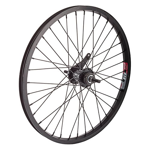 Wheel Master Rear Bicycle Wheel 20 x 1.75 36H, Alloy, Bolt On, Black, KT Coaster