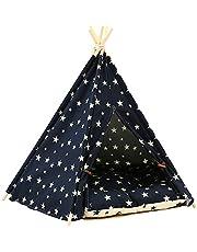 Pet cat/Dog Tent, Large Dog House with Cushion (≤15KG pet)