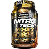 MuscleTech NitroTech Whey Plus Isolate Gold, Double Rich Chocolate, 2 Pound