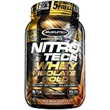 Cheap MuscleTech NitroTech Whey Plus Isolate Gold, Double Rich Chocolate, 2 Pound
