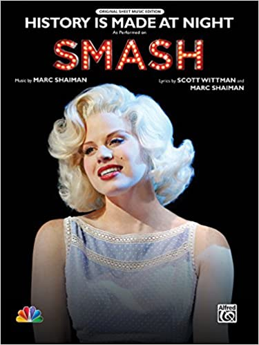 Download online History Is Made at Night: As performed on Smash (Piano/Vocal/Chords), Sheet (Original Sheet Music Edition) PDF