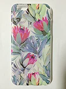 iPhone 6 Case, iPhone 6 (4.7 Inch) Case - LUOLNH Fashion Style Colorful Painted Many safflower Hard Case Back Cover Protector Skin For iPhone 6 (4.7 Inch)