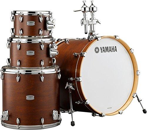 (Yamaha Tour Custom Maple 4pc Standard Shell Pack, Chocolate Satin)