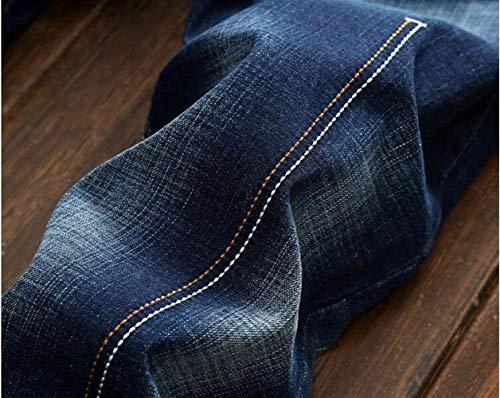 Straight In Blau Cher Denim Slim Fori Alla Pantaloni Reality Cotone Cowboy Tide Abbigliamento T Ssig Sfilacciati Original Uomo Classic Moda Jeans Da Oxwng1x6