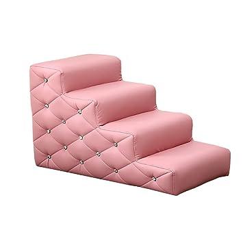 Escalera de Mascota Taburete Rosa para Niños para Camas ...