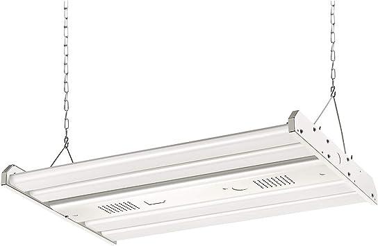 ELECALL LED Linear High Bay Shop Light, 161W/21735Lumen, 4000K Nature Light, 2FT, 0-10VDC Dimming Applicable, 120-277V, UL Listed, DLC