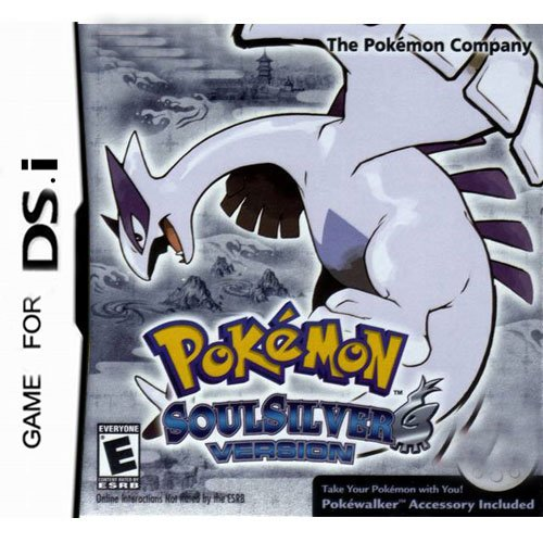 Pokemon SoulSilver Version -English Version for DSi Games (DSi 1.4 ver & 1.4 under only)