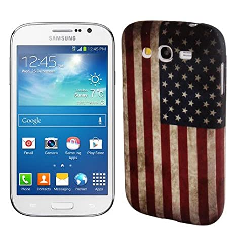 custodia samsung galaxy grand neo plus bandiera americana