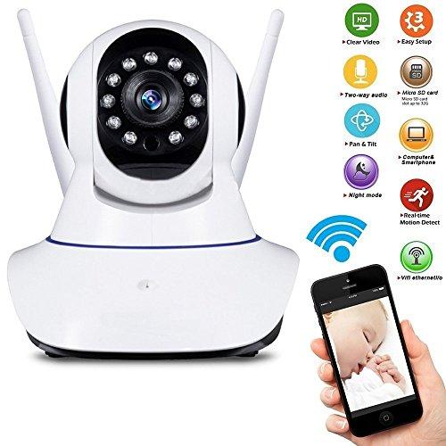 Camera IP HD 720 Alta Resolução HD com WiFi