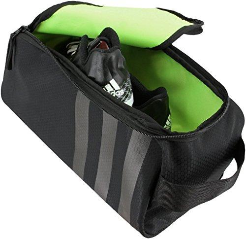 51aXxXb%2BmCL - adidas Unisex Stadium II Team Shoe Bag, Black, ONE SIZE