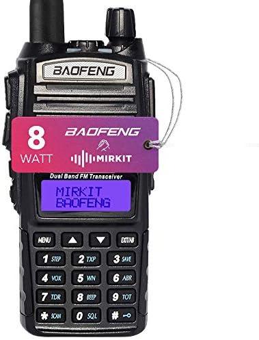 Mirkit Radio Baofeng UV-82 MK5 MP Max Power 8W 2800 mAh Li-Ion Battery Pack, Mirkit Edition
