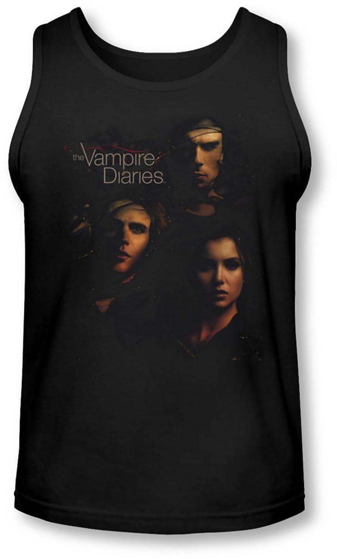 Vampire Diaries - Mens Smokey Veil Tank-Top