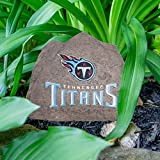 NFL Tennessee Titans Team Logo Faux Rock Lawn Decor
