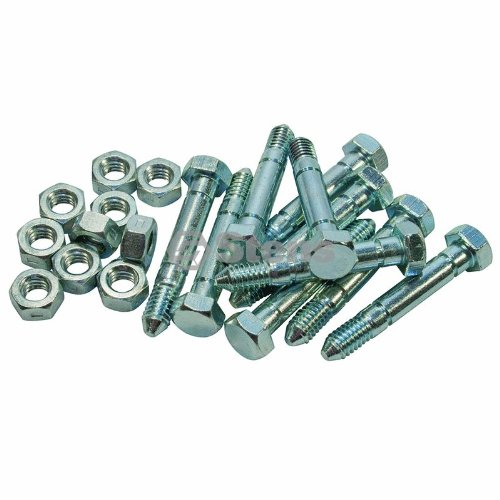 Stens 780-011 Shear Pin Shop Pack, Silver