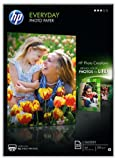 HP Everyday Glossy Photo Paper, A4, 210 x 297 mm, 200 g/m2, 25 Sheets