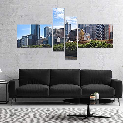 Buy design art victoria cityscape wall art canvas