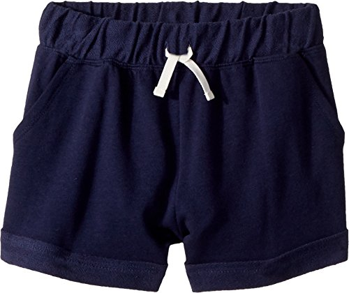 - Splendid Girls' Big Cuffed Short, Navy, 10