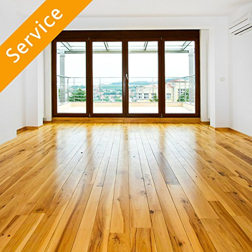 Hardwood Floor Refinishing - 3 Rooms (Building 1 Floor)