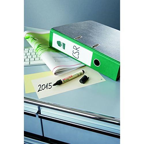 Caja de 10 marcadores permanentes con punta redonda fabricados con material recilado edding 21-01 color negro resistente al agua tinta permanente