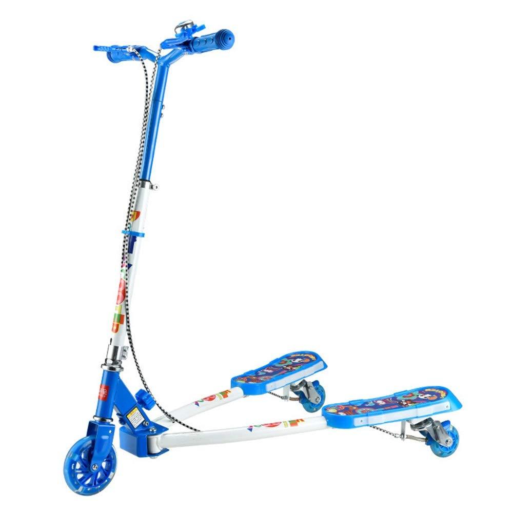 Runplayer ( 子供用三輪スクーター、漫画スクーター B07QXW18JW、クリエイティブスクーター、ミュージックフラッシュスクーター付き ( Color : Blue Blue ) B07QXW18JW, ヌマヅシ:56113c9b --- instruments.paddymartin.com