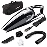 Car Vacuum, Tsumbay 5000PA 120W Strong Suction Car Vacuum Cleaner DC 12V Handheld Vacuum for Cars, Wet/Dry Use Car Vacuum Auto Dust Buster with 14.8 Feet Power Cord