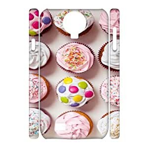 SamSung Galaxy S4 I9500 Macaron 3D Art Print Design Phone Back Case Customized Hard Shell Protection TY078648