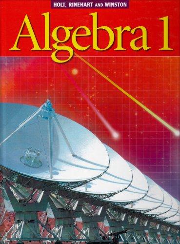 Holt Algebra 1: Student Edition  2003 2003