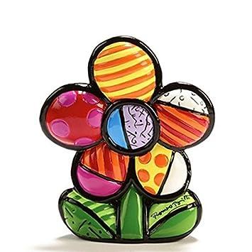 Romero Britto Mini Flower Figurine
