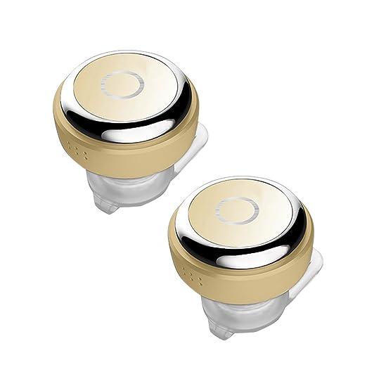 7 opinioni per Coio [2 Pezzi] Leggero Mini Bluetooth 4.0 In Auricolari Ear Auricolare