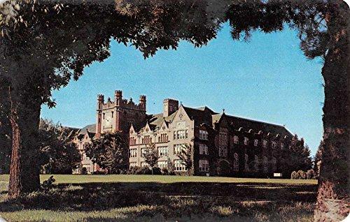 Moscow Idaho University Admin Bldg Vintage Postcard (Bldg University)