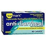 Sunmark Anti-Diarrheal Caplets - 48 ct