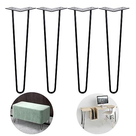 Amazon.com: KUWD - Patas de metal para horquilla, patas de ...