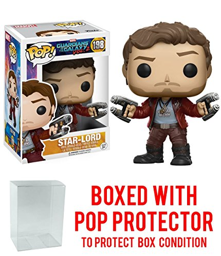 Guardians of the Galaxy Vol. 2 Star-Lord Pop! Vinyl Figure with Free Pop Protector!