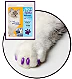 Soft Claws for Cats - Size Large - Color Purple