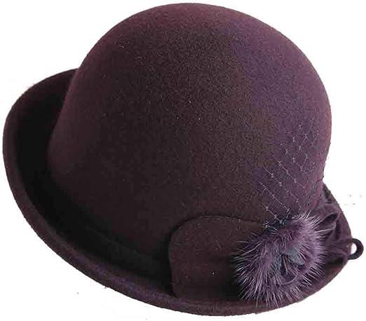 Sunny Sombrero Cloche Gorras para Mujer,Bernadette Estilo Vintage ...