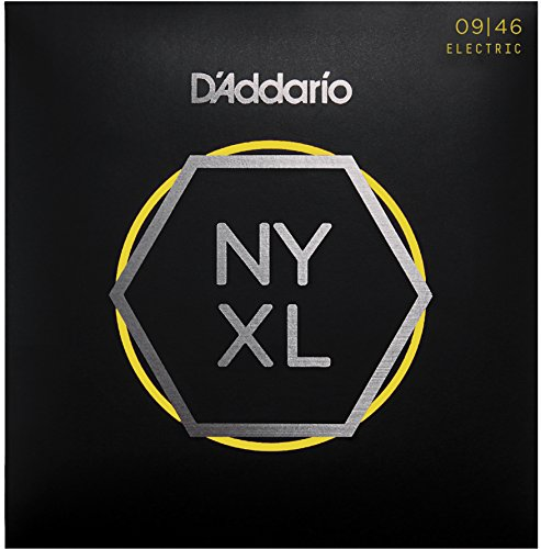 D'Addario NYXL0946 Nickel Wound Electric Guitar Strings, Sup