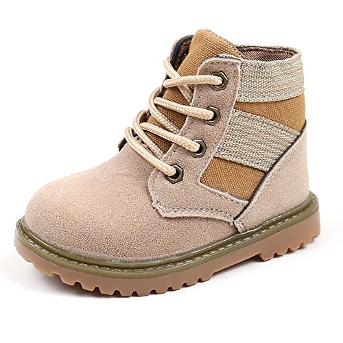 YZHYXS Winter Baby Boots Children Boys Girls Martin Boot Toddler First Walking Shoes