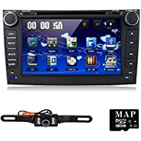 For Toyota Corolla 2007 2008 2009 2010 2011 Car DVD Player 8 Inch Touch Screen GPS Stereo iPhone Music/AM FM Radio/SWC/Bluetooth/3G/AV-IN Map Card + Rear Camera
