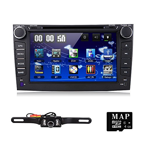 For Toyota Corolla 2007 2008 2009 2010 2011 Car DVD Player 8 Inch Touch Screen GPS Stereo iPhone Music/AM FM Radio/SWC/Bluetooth/3G/AV-IN Map Card + Rear Camera Mp3 Wma Fm Dvr