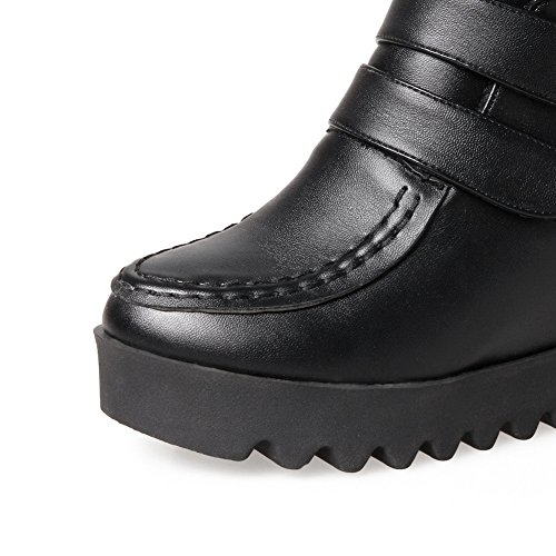 Shoes Waterproof Slip Black Leather Climbing Hiking Climbing Closure Rock Shoes Womens 1TO9 Toe Rock Resistant Closed MNS02478 Smooth No Urethane wFnqTfC8x