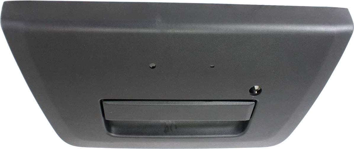 Tailgate Handle Compatible with NISSAN FRONTIER 2005-2012 Outside Textured Black with Keyhole