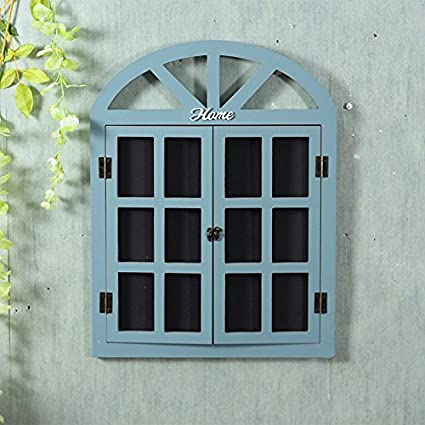 American retro decoraciones hogareñas dejar la ventana pared ...