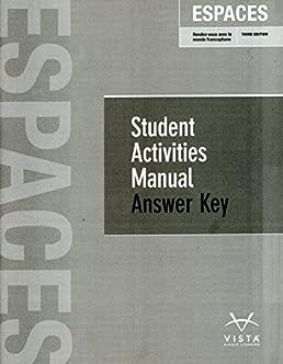 imaginez student activities manual answer key product user guide rh repairmanualonline today