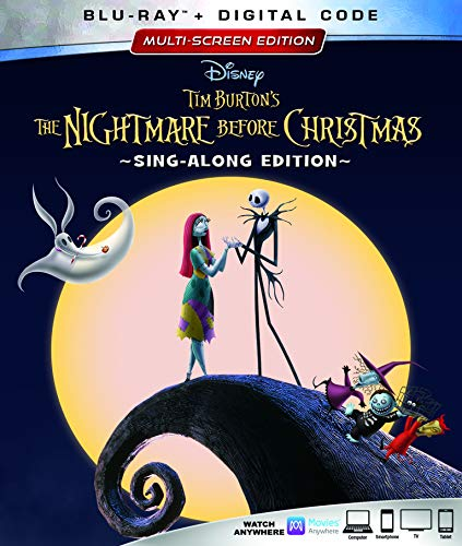 The Nightmare Before Christmas (25th Anniversary Edition) [Blu-ray] (Bilingual)