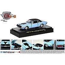 1968 ½ Mercury Cougar R-Code (13-03) M2 Machines Detroit Muscle Release 21 2013 Castline Premium Edition 1:64 Scale Die-Cast Vehicle Set by M2 Machines