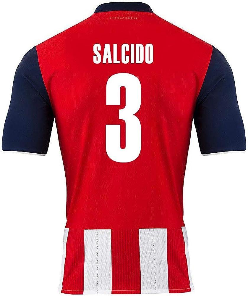 PUMA Salcido #3 Chivas Guadalajara Home Soccer Jersey 2016/17 Youth.